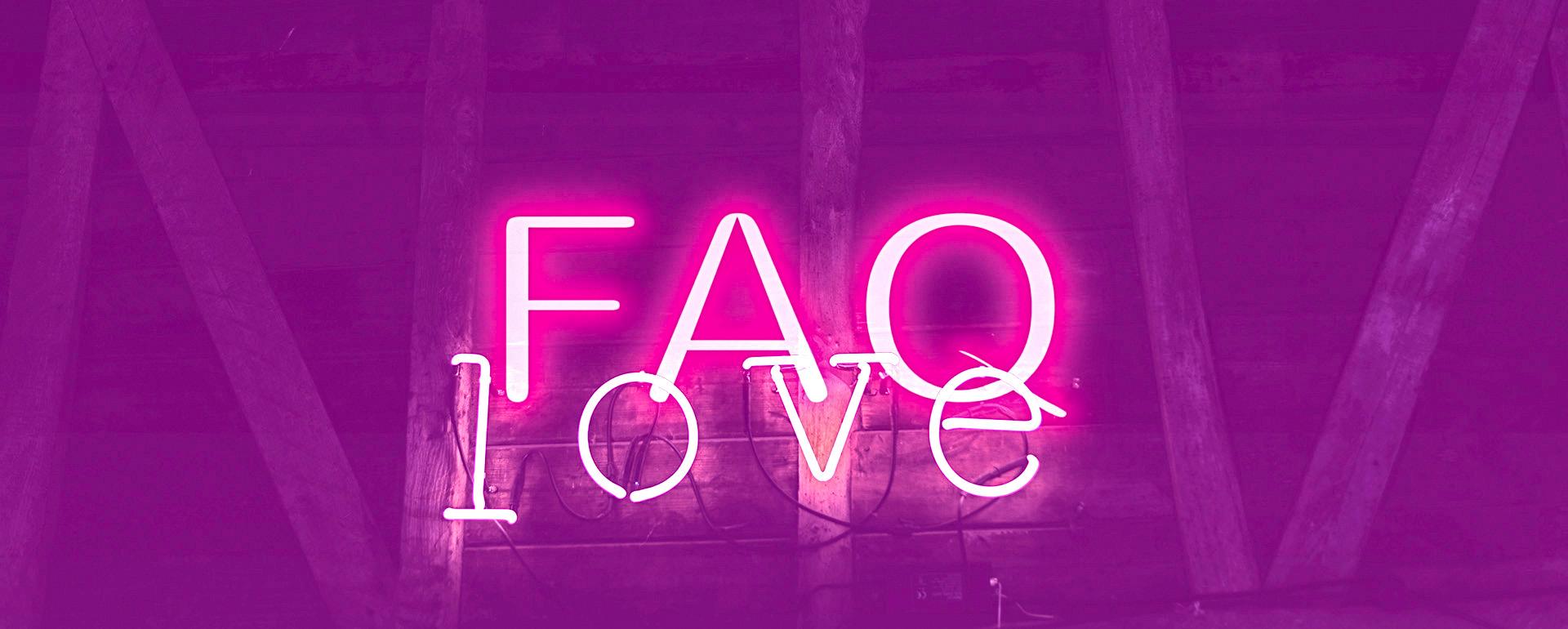Preguntas frecuentes faq